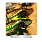 Redline Racers Shower Curtain