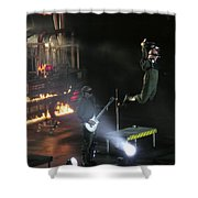 Red's Lead Singer Can Fly Shower Curtain