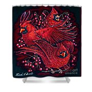 Reds Shower Curtain
