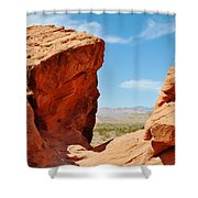 Redstone Canyon Shower Curtain