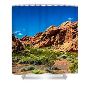 Redstone Picnic Area Shower Curtain