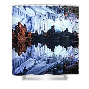 Reed Flute Cave Guillin China Shower Curtain