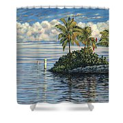 Reef Channel Shower Curtain