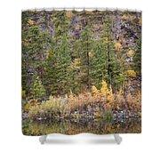 Reflect Autumn Shower Curtain