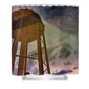 Reflected Necessity Shower Curtain