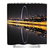 Reflected St. Louis Shower Curtain