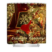 Reflecting Christmas 2013 Shower Curtain