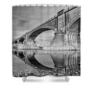 Reflecting Fernbridge Shower Curtain