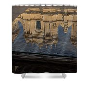 Reflecting On Noto And The Beautiful Sicilian Baroque Style Shower Curtain