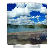 Reflecting Springs Shower Curtain