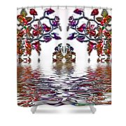 Reflecting Tranquility Shower Curtain