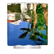 Reflection Gabezo And Trees 29478 Shower Curtain