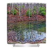 Reflection In The Lake Shower Curtain