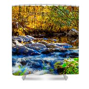 Reflection Of Autumns Natural Beauty Shower Curtain