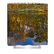 Reflection Of Fall Shower Curtain