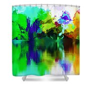 Reflections 012013 Shower Curtain