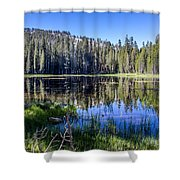 Reflections At Its Best Shower Curtain