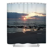 Reflections Cape May Point Shower Curtain