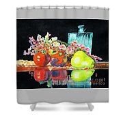 Reflections In Color Shower Curtain