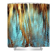 Reflections In Water Shower Curtain