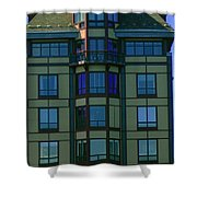 Reflections In Windows Shower Curtain