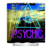 Reflections Of A Psychic Shower Curtain