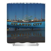 Reflections Of Atlantic City Shower Curtain
