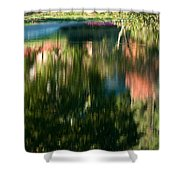 Reflections Of Colours  Shower Curtain