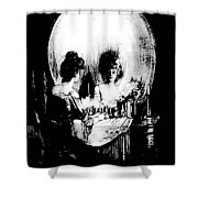 Reflections Of Death After Gilbert Shower Curtain
