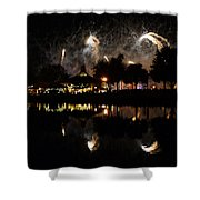 Reflections Of Epcot Shower Curtain