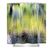 Reflections Of Fall 3 Shower Curtain