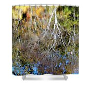 Reflections Of Fall 5 Shower Curtain