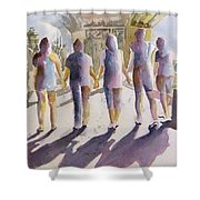 Reflections Of Friendship Shower Curtain