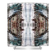 Reflections Of Gateshead 1 Shower Curtain