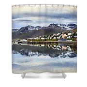 Reflections Of Iceland Shower Curtain