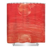 Reflections Of Pain Shower Curtain