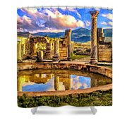Reflections Of Past Glory Shower Curtain