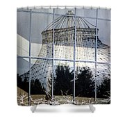 Reflections Of Riverfront Park Shower Curtain
