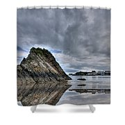 Reflections Of Tenby 2 Shower Curtain