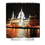 Reflections Of The Danube Shower Curtain