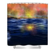 Reflections Of The Day Shower Curtain
