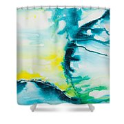 Reflections Of The Universe No. 2025 Shower Curtain