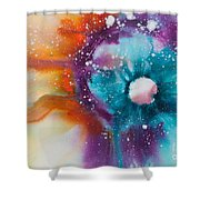 Reflections Of The Universe No. 2147 Shower Curtain