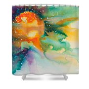 Reflections Of The Universe No. 2148 Shower Curtain