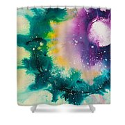Reflections Of The Universe No. 2152 Shower Curtain
