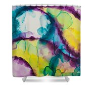 Reflections Of The Universe Series No 1390 Shower Curtain