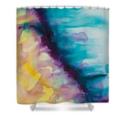 Reflections Of The Universe Series No 1420 Shower Curtain