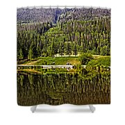 Reflections Of Vail Shower Curtain