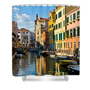 Reflections Of Venice II Shower Curtain