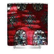 Reflections On A Persian Rug Shower Curtain